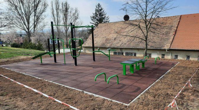 Elkészült és használatba vehető a sportpark